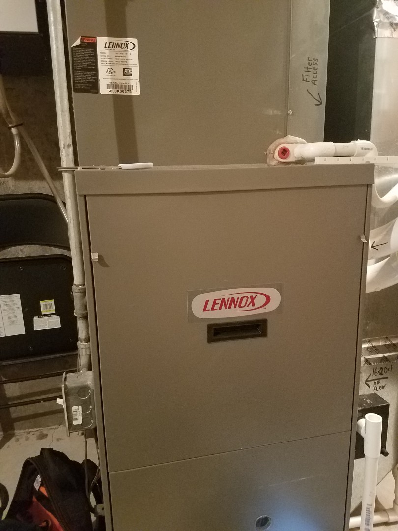 Ramsey, MN - Furnace tune up and clean on Lennox unit in Elk River