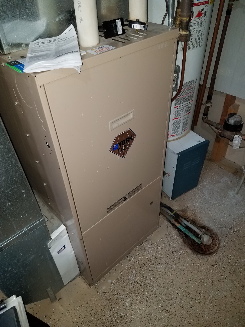 Ramsey, MN - Furnace tune up and clean on York unit in St. Michael