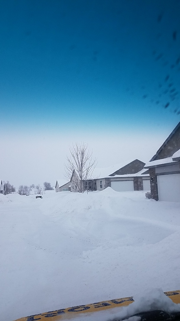 Ramsey, MN - No heat for furnace, found deep snow obstructing vent piping in otsego