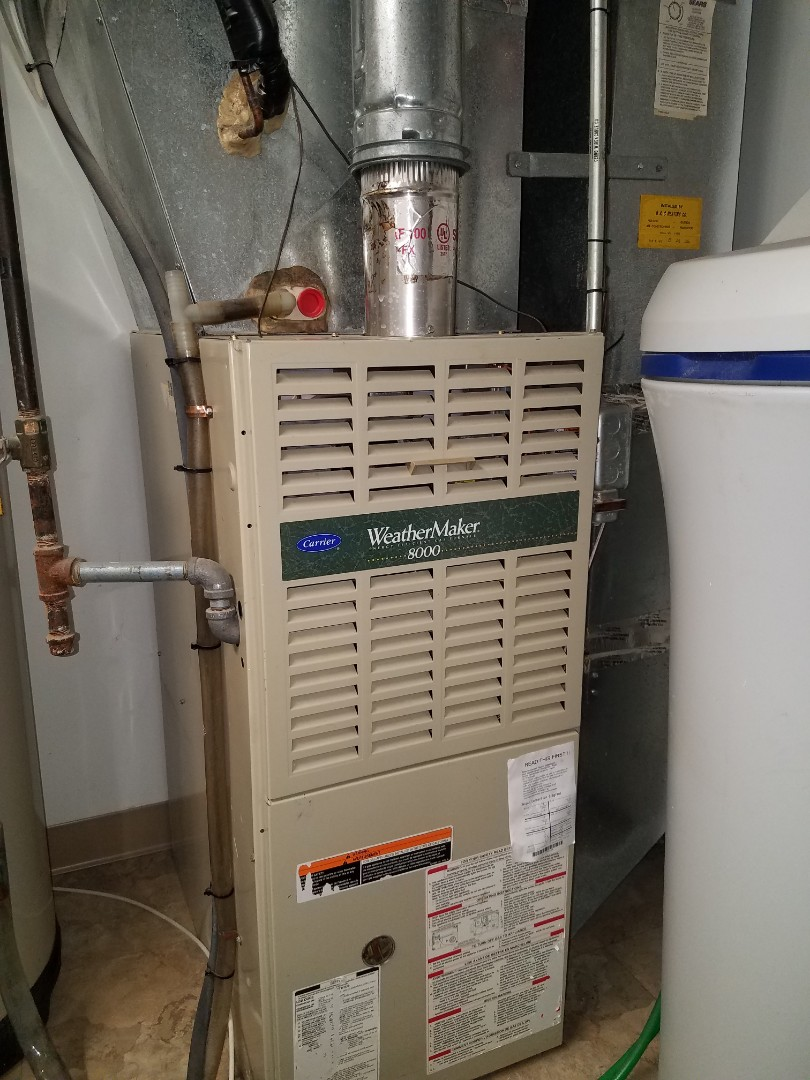 Saint Michael, MN - Found failed limit switch on carrier furnace caused by dirty filter in Maple Grove