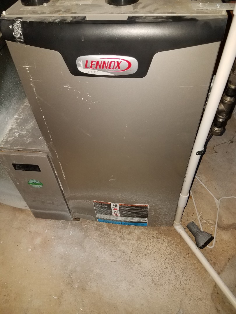 Otsego, MN - Furnace tune up and cleaning on Lennox furnace