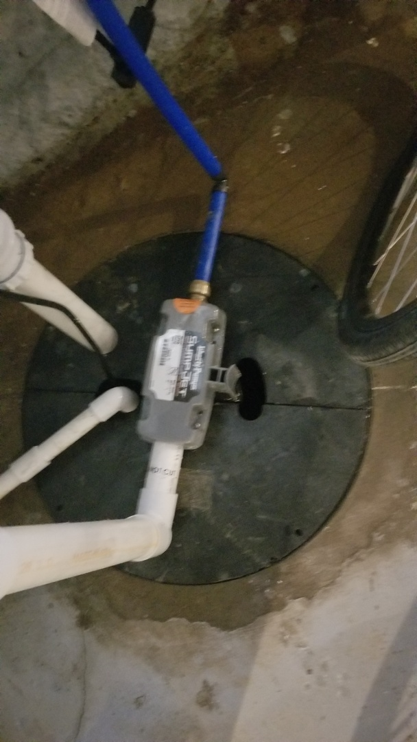 Water back up system