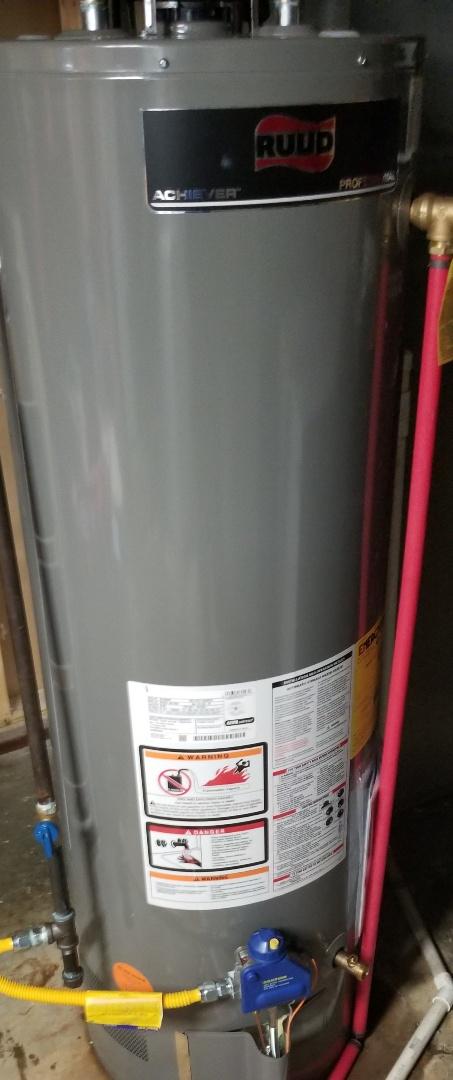 Louisville, KY - Water heater