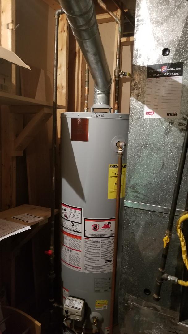 Jeffersonville, IN - Water heater repair