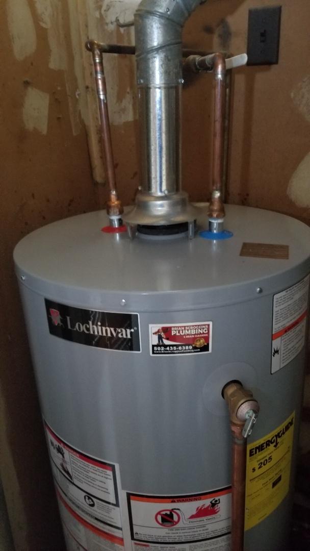 Jeffersonville, IN -  water heater