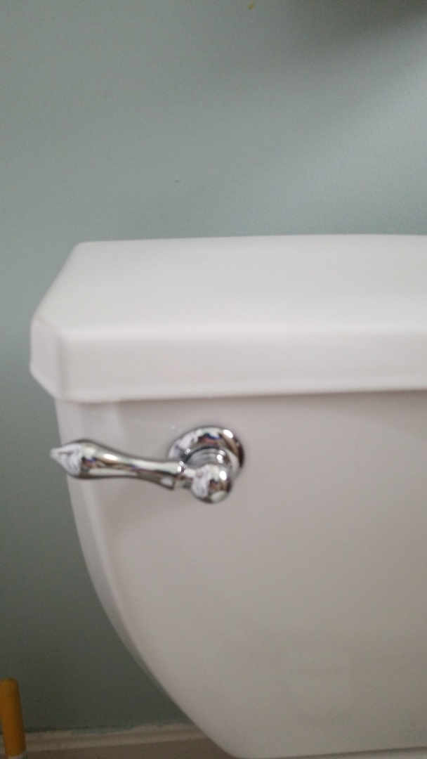 Jeffersonville, IN - Replaced components in toilet
