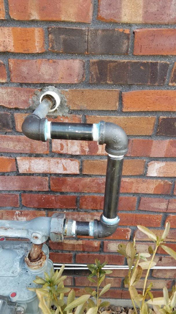 Jeffersonville, IN - Gas line repair