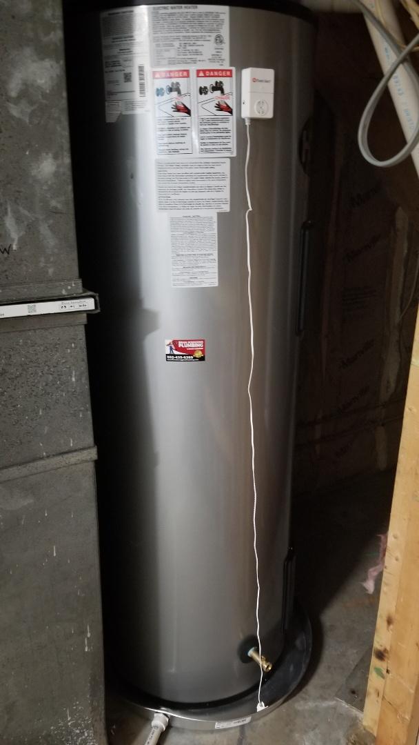 Borden, IN - New water heater installation