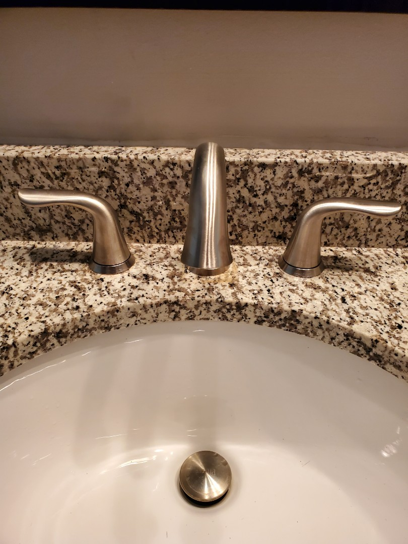 Louisville, KY - install new bathroom faucets