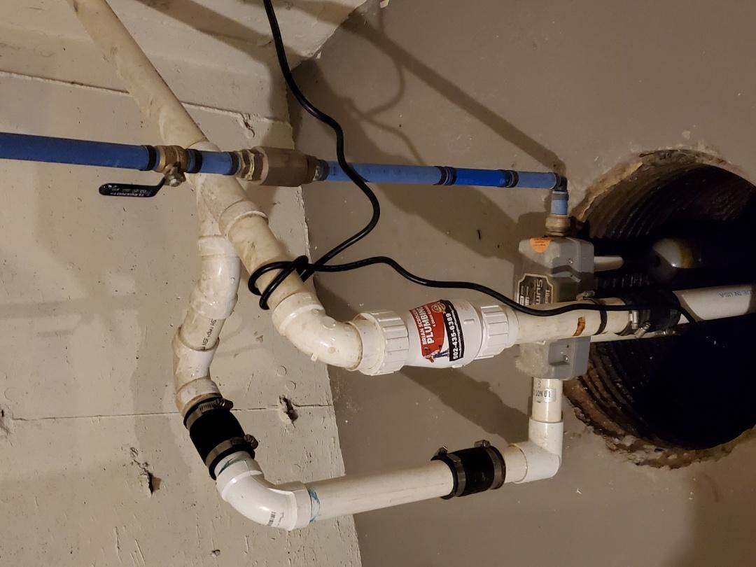 Sellersburg, IN - New Sump pump