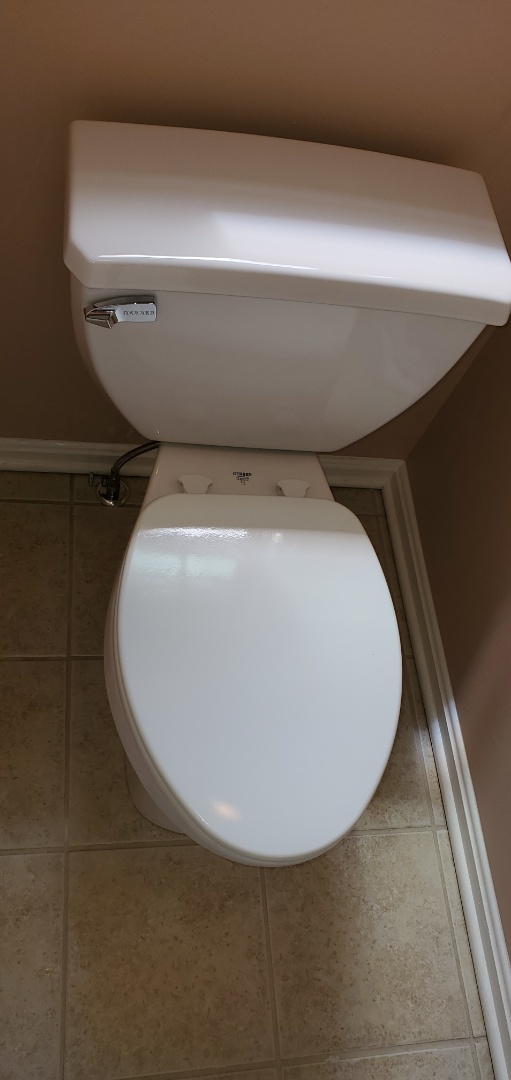 Charlestown, IN - Two new toilets and one new isolation valve.