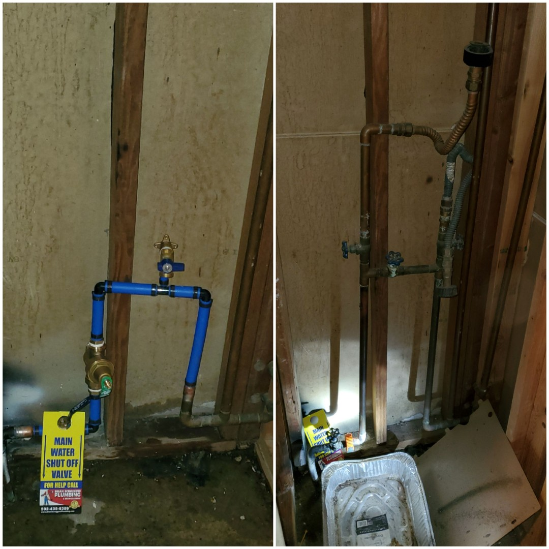 Clarksville, IN - New shutoff valve and pressure control system