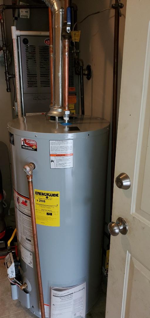 Jeffersonville, IN - Install new water heater