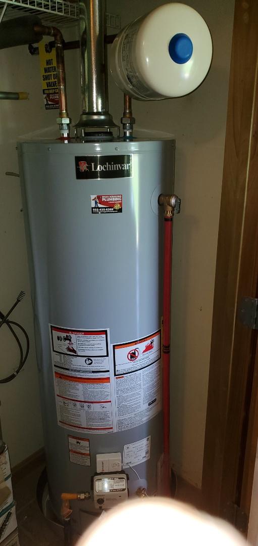 Sellersburg, IN - New gas water heater