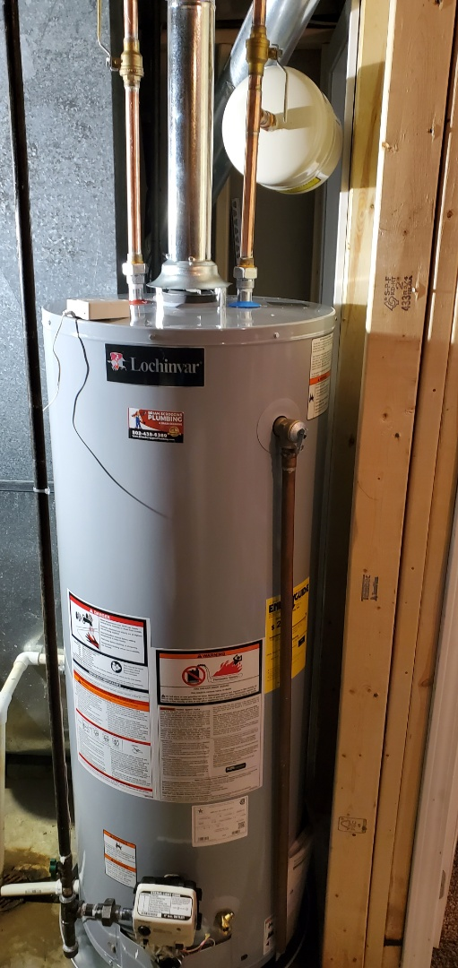 Jeffersonville, IN - Install new 50 gallon gas water heater