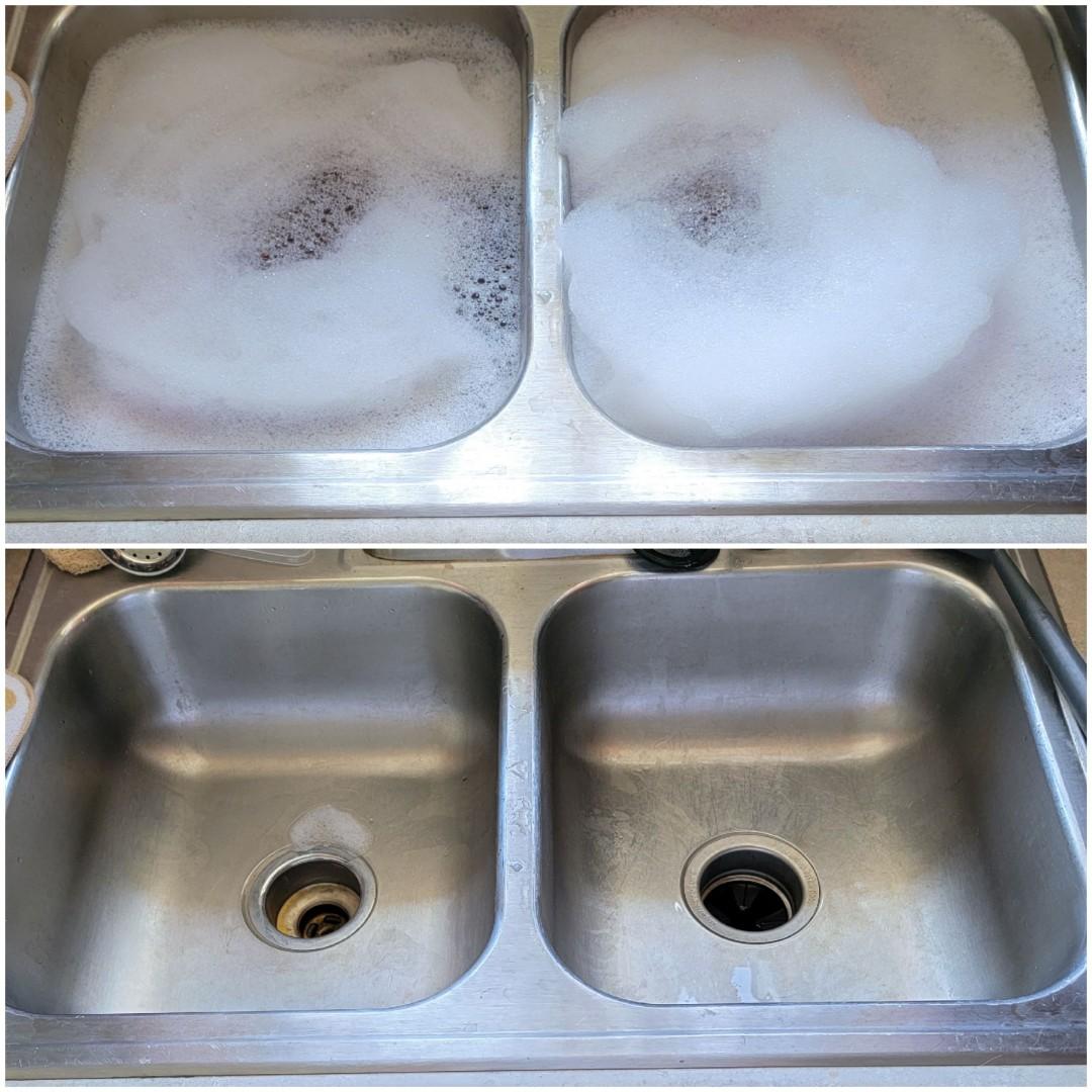 Jeffersonville, IN - Cleaned kitchen sink drain back up.