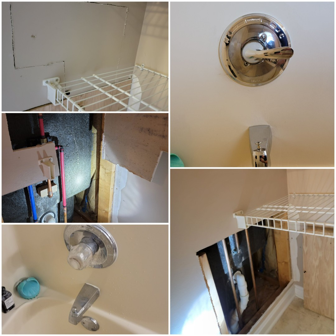 Jeffersonville, IN - Install new tub and shower faucet