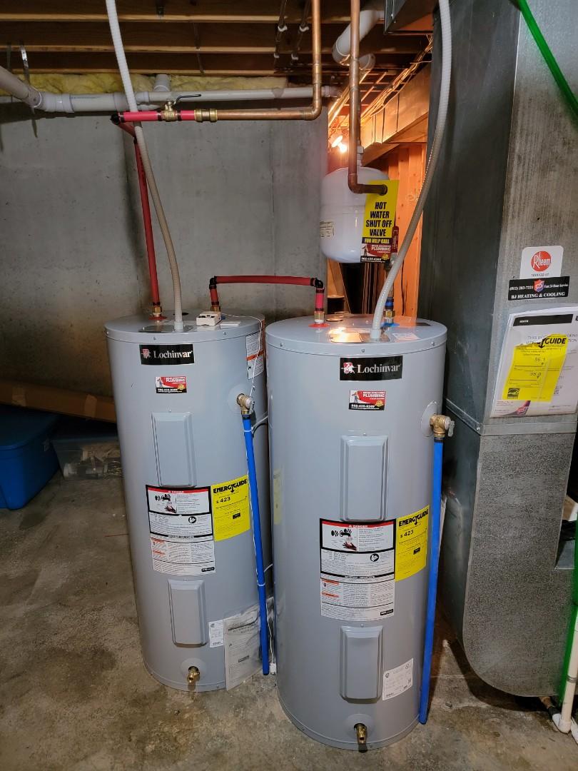 Charlestown, IN - Installation of new water heater and shutoff valve