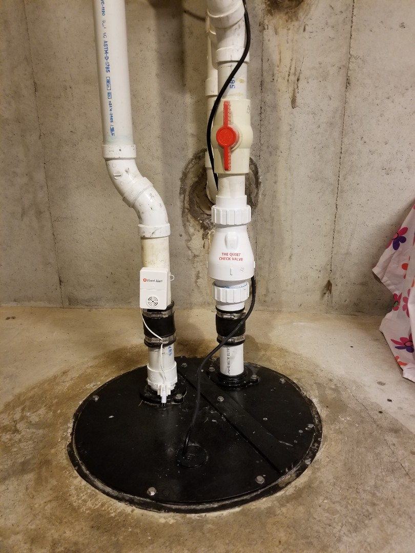 Jeffersonville, IN - Sewage ejector pump with alarm