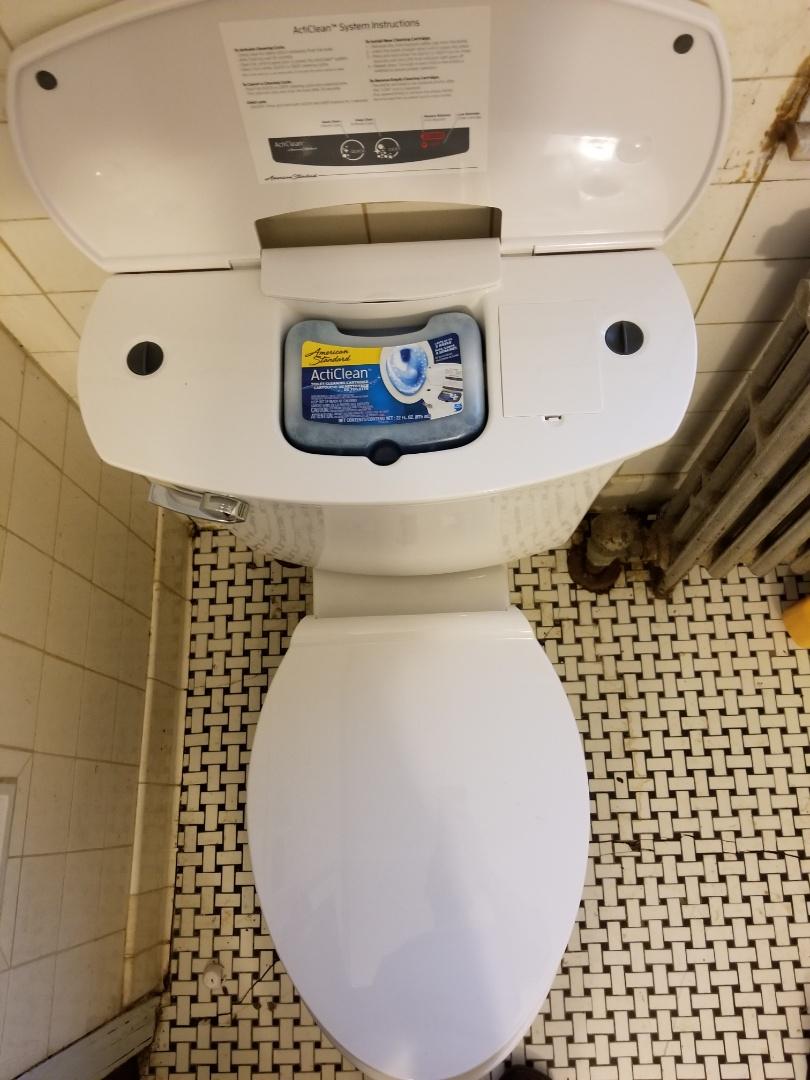 Louisville, KY - New toilet