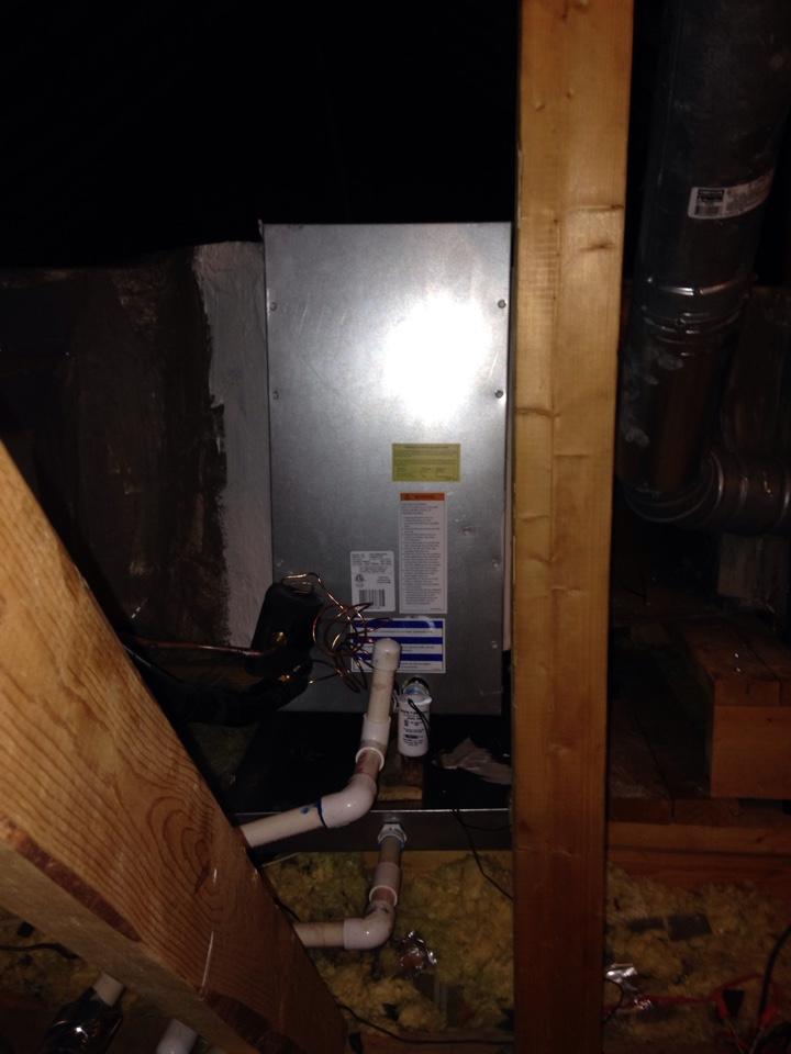 Millbrook, AL - Installed new slab coil under warranty