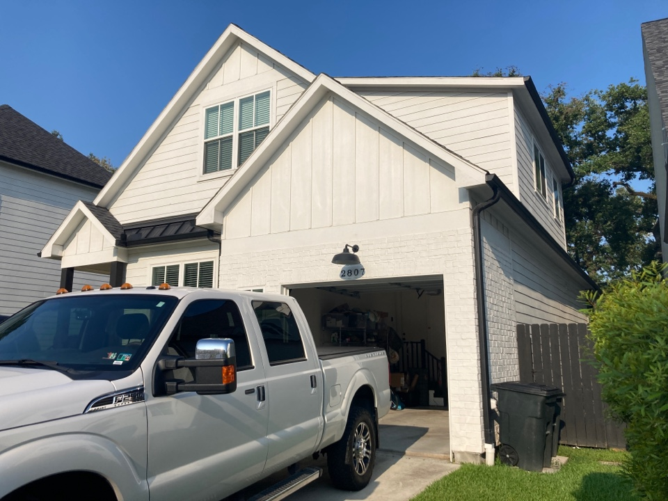 Houston, TX - Tracking down a leak today! It may be condensation on A/C duct work or it may be from the roof. We will know the answer soon!