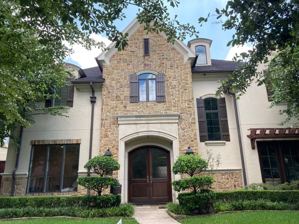 Houston, TX - Steep roof inspection today. This roof inspection will be focused on a leaking AC vent pipe and we will also perform a full roof inspection to find any other issues. Call Republic Roof Systems today!