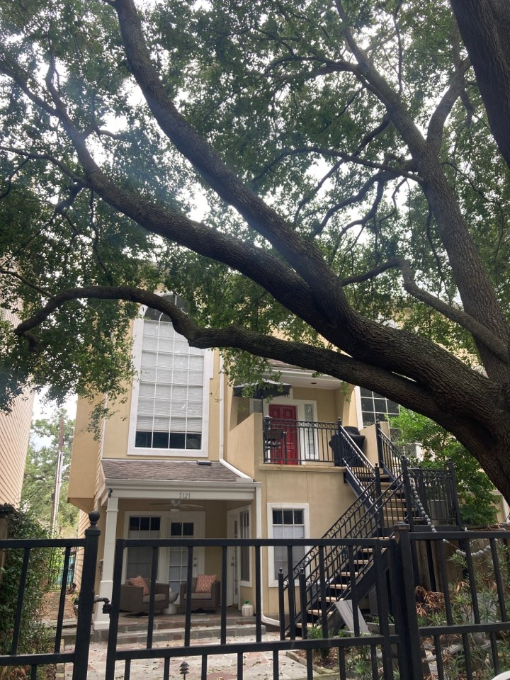 Houston, TX - Roof inspect for roof damage following Tropical Storm Nicholas. We are looking for wind damaged shingles of any other storm related roof damage.