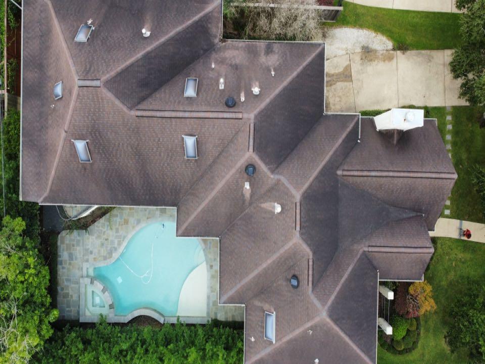 Houston, TX - Roof inspection.