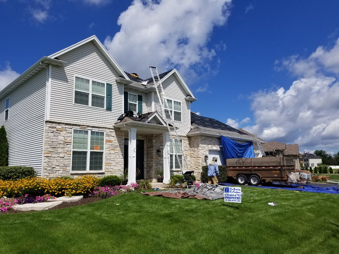 Remove and replace roofing with IKO Cambridge shingles.