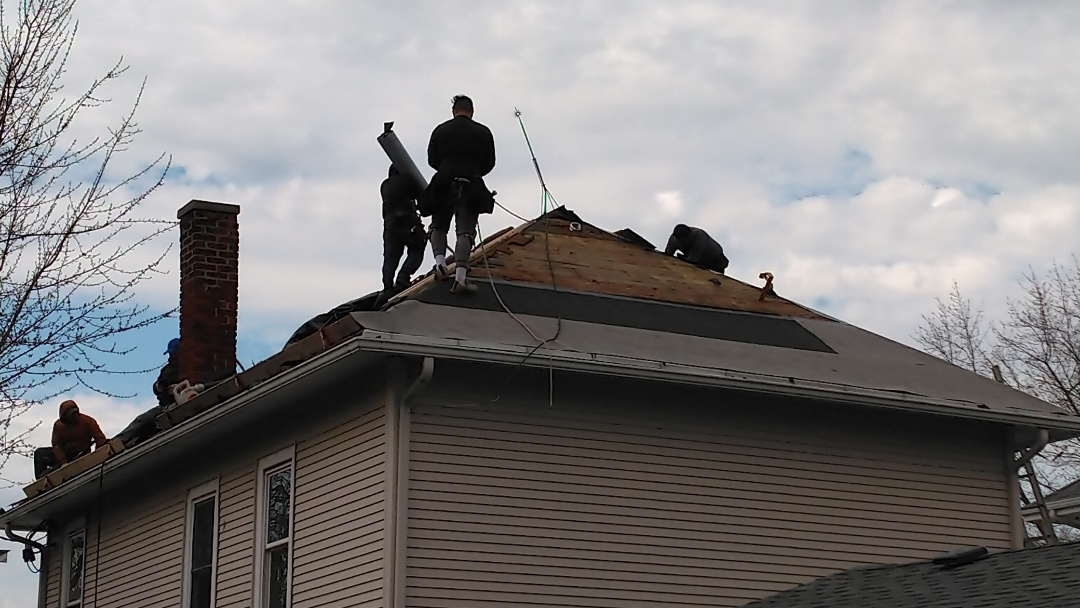 Remove and replace roof with IKO Cambridge shingles.