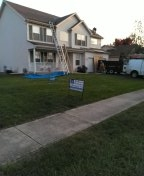 Removing existing shingles and replacing them with 25 squares of IKO Cambridge dual black shingles