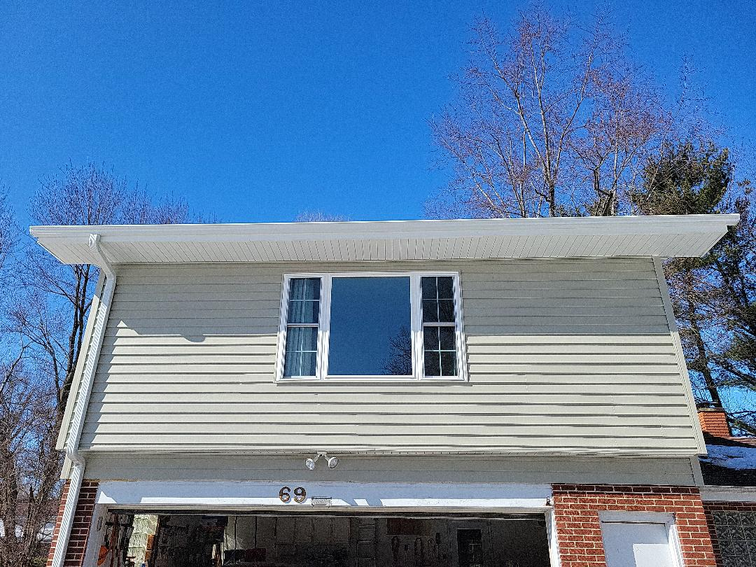 Iko shingles aluminum gutters vinyl siding window replacement.