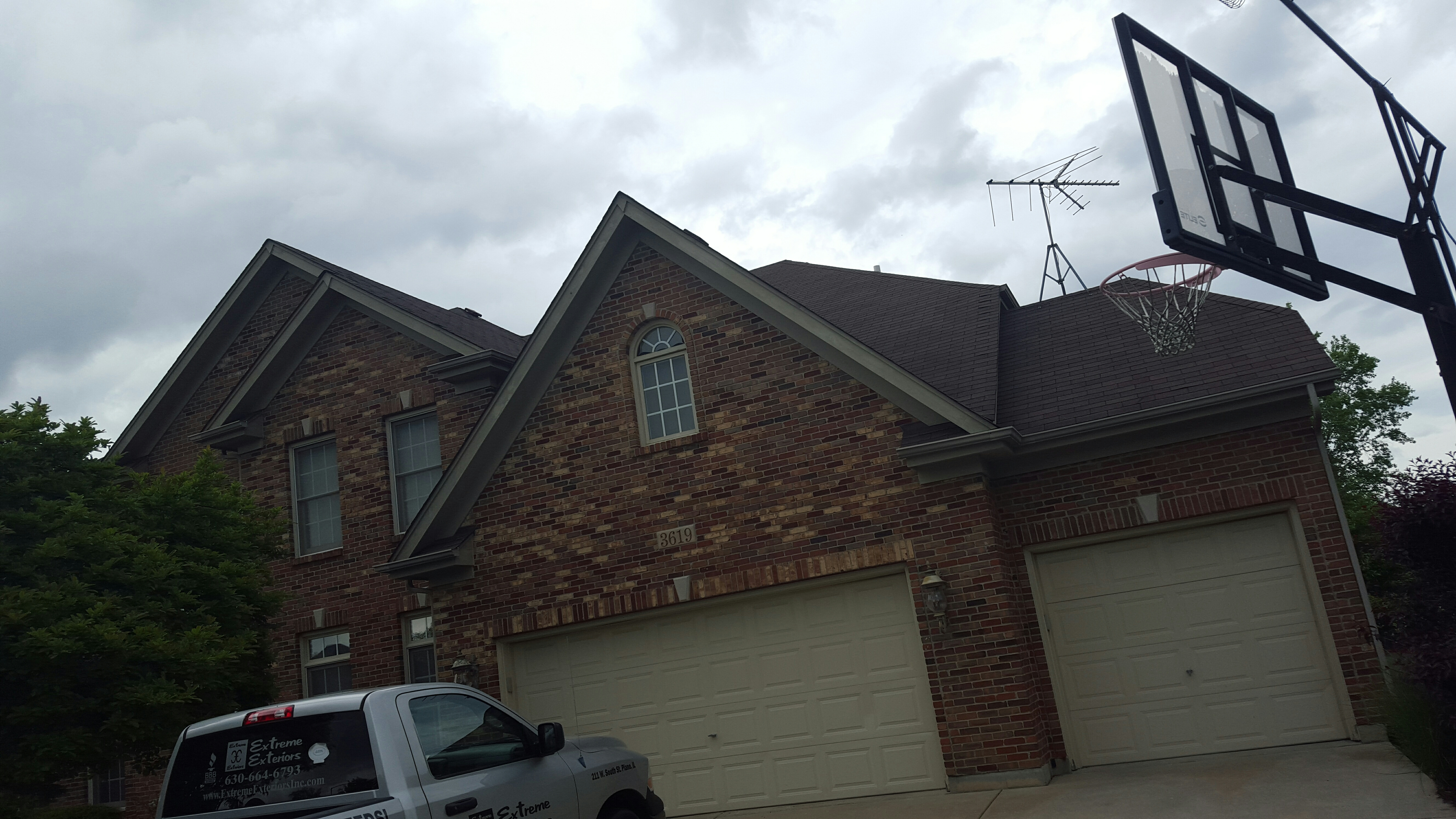 Naperville, IL - Leaking roof repair