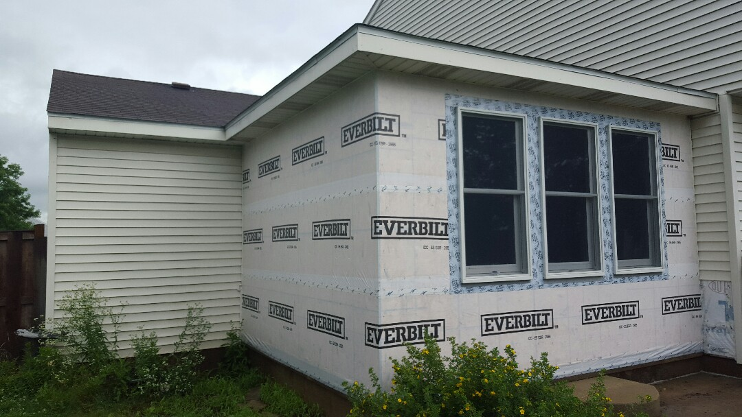 Yorkville, IL - Addition Siding and gutters