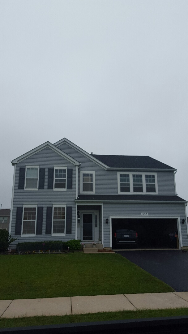 Yorkville, IL - Final walk threw IKO Cambridge AR roofing project