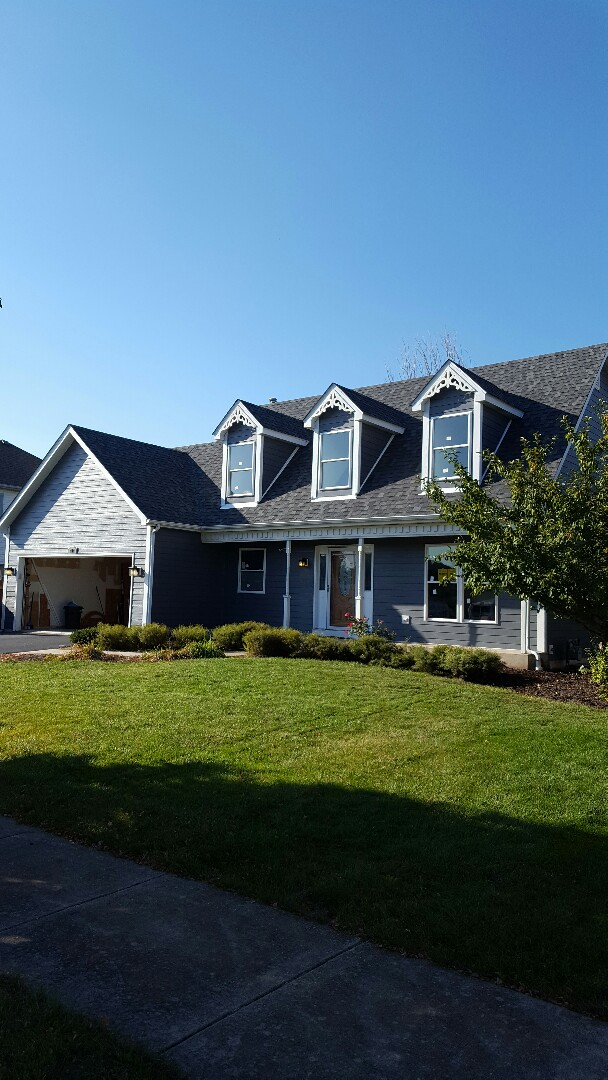 Oswego, IL - New Hardie Board siding