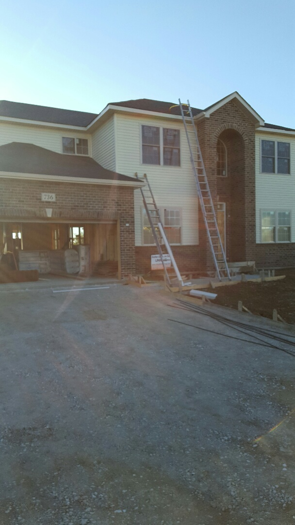 Yorkville, IL - New siding,soffit,fascia and gutters
