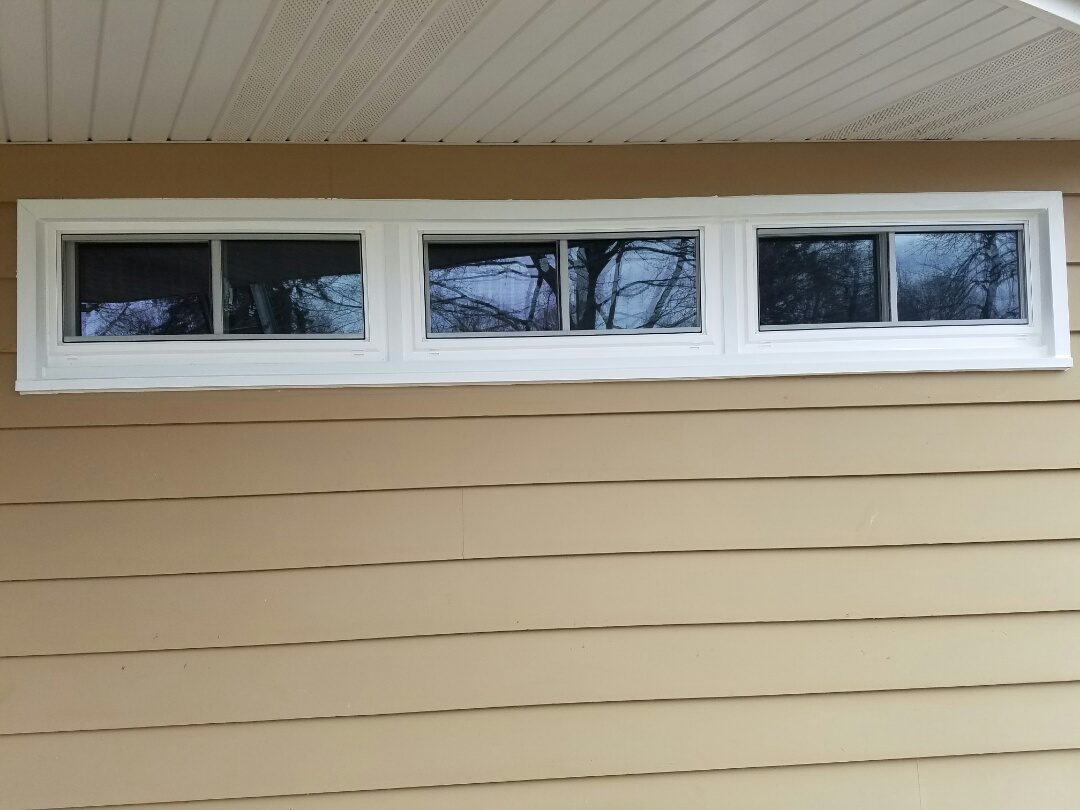 Newark, IL - Replacement windows in Newark.
