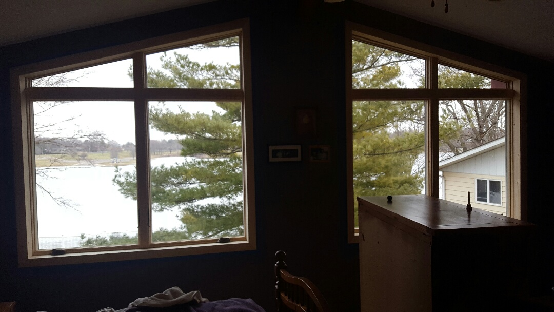 Somonauk, IL - New Anderson wood window project complete