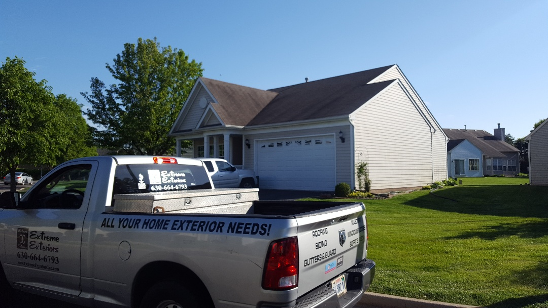 Montgomery, IL - New iko cambridge roof getting ready to start soon