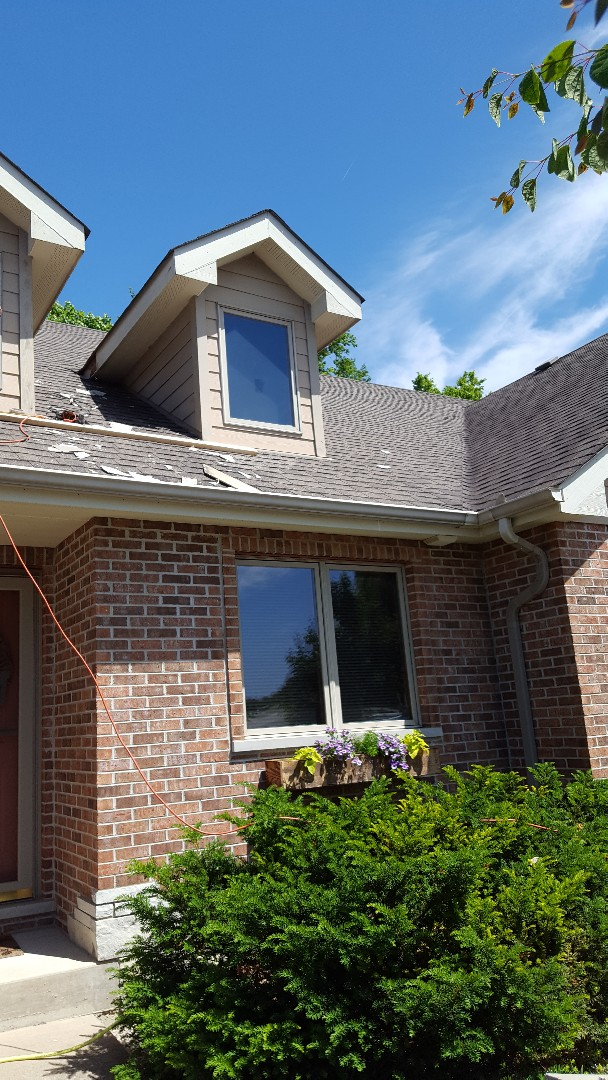 Yorkville, IL - Hardie Board repairs