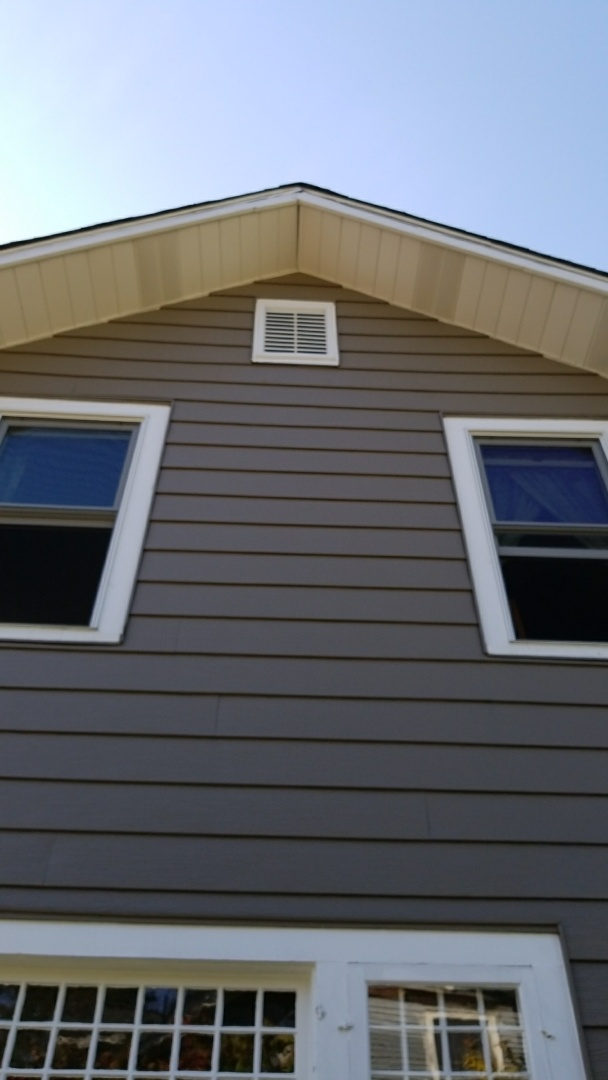 Batavia, IL - New Gable vent
