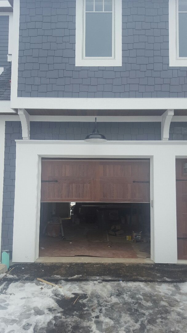 Sandwich, IL - Hardie Board Siding, Tongue and Groove bead board soffit, LP fascia and Trim.