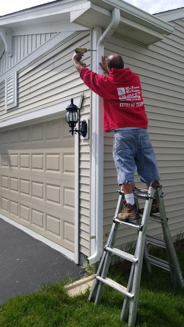 Yorkville, IL - Gutter repair