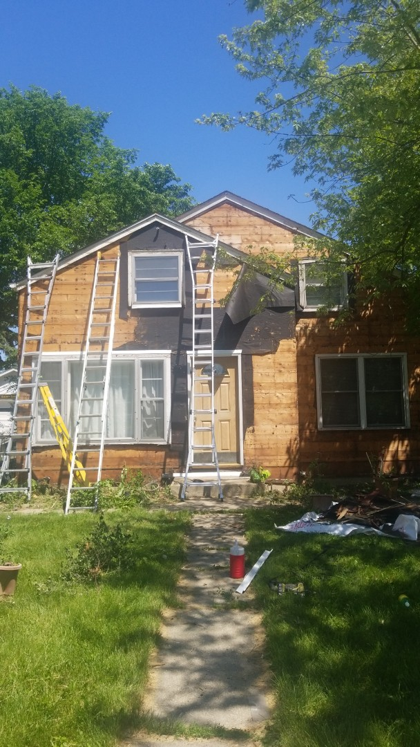 Downers Grove, IL - New siding