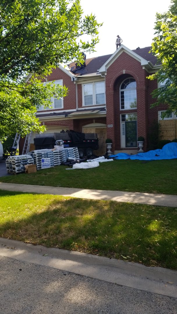 Bolingbrook, IL - New iko cambridge roofing system starting today