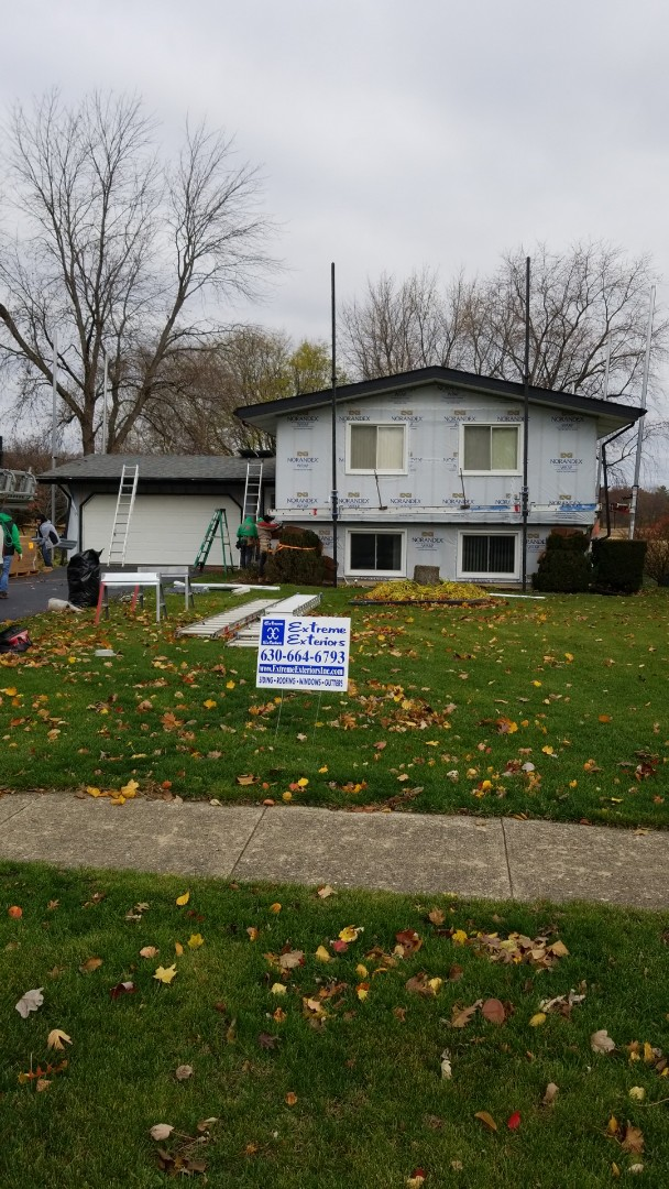 Yorkville, IL - New mastic vinyl siding project starting today