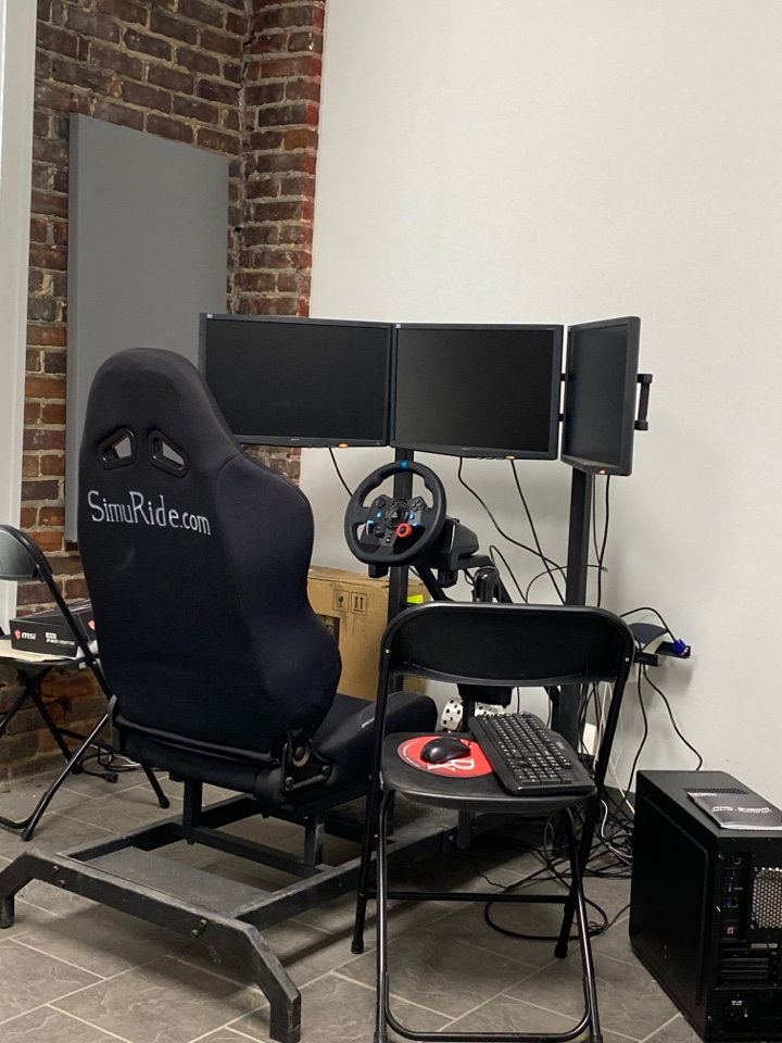 Conway, SC - Here is our setup for testing desktop PC builds.