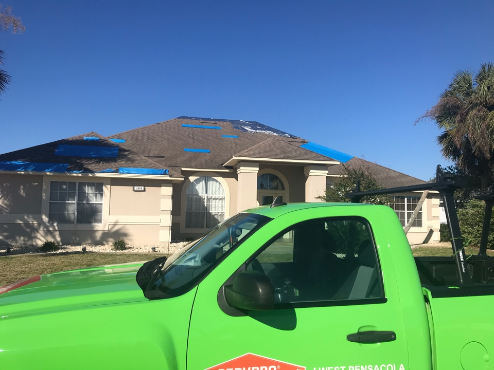 Customer called concerning possible mold from a leaking roof. We did a moisture map of the home and determined that there is no elevated moisture and no visible signs of mold. Customer was informed that their roof does need to be replaced to prevent a future mold problem from occurring. All in all a house that just needs a new roof.